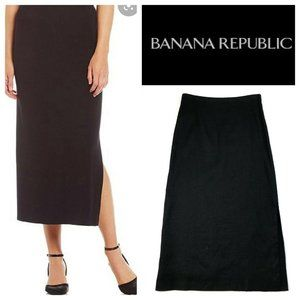 Vintage Banana Republic Stretch Linen Maxi Skirt